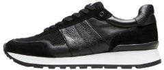 SELECTED Leather - Sneakers Men Black