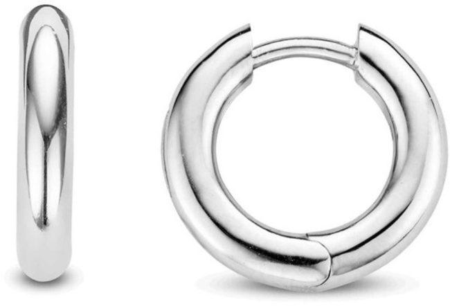 Afbeelding van Ti Sento Milano TI SENTO - Milano 7557SI zilveren gerhodineerde oorbellen 18 mm