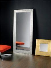 Pezzani srl Specchiera rettangolare da terra in legno massello foglia argento DIVA 92x192
