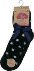 Zwarte Inter socks Huissokken Dames Maat 36-41 - Anti-slip