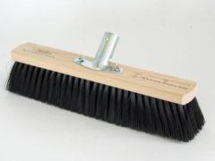 Nespoli Professionele werkplaats & zaalbezem met synthetische haarborstels, 80 cm