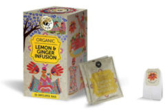 Ministry Of Tea Lemon & ginger bio 20 Stuks