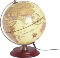 Beliani VESPUCCI - Globe - Geel - Synthetisch materiaal