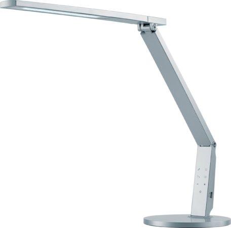 Afbeelding van Bureaulamp Hansa led Vario Plus zilvergrijs