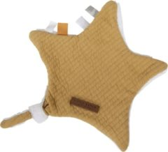 Gele Little Dutch Knuffeldoek ster - pure ochre