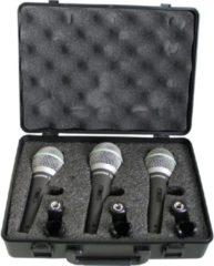 Samson set van drie Q6CL studiomicrofoons