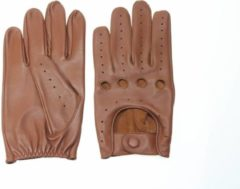Pothelm.nl Driver gloves nappa bruin maat XL