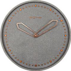 NeXtime Cross - Klok - Stil Uurwerk - Rond - Ø35 cm - Grijs