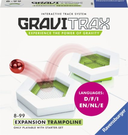 Afbeelding van Ravensburger GraviTrax® Trampoline uitbreiding - knikkerbaan / Kogelbaan