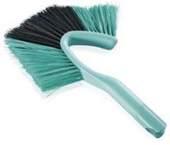 Turquoise Leifheit Dusty stofbezem - Click System