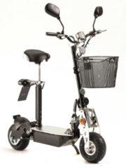 Elektro City Roller Basic mit Korb, Akku und Zubehör Didi Thurau Edition schwarz