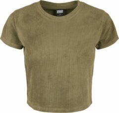 Urban classics Cropped - Korte Urban - Streetwear - Modern - Casual - Modern - Lente - Zomer Dames T-shirt Maat L