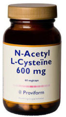 Proviform N-Acetyl-L-Cysteine 600mg Capsules 60st