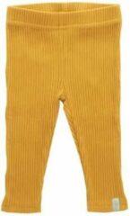 Babykledingenzo Jollein legging baby oker geel