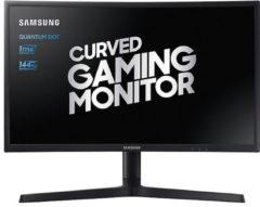 Samsung LC27FG73FQUXEN LED-monitor 68.6 cm (27 inch) Energielabel B (A++ - E) 1920 x 1080 pix Full HD 1 ms HDMI, DisplayPort, Hoofdtelefoon (3.5 mm jackplug)