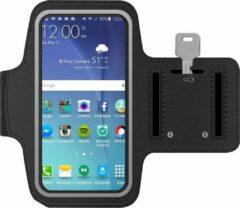 MMOBIEL Sport Hardloop Armband voor Samsung Galaxy S20 FE/S20 (+)/Note 20 (Ultra)/10/9 (+)/M31/M21/M11/A91/A71/A52 /A51/A42/A41/A21 Zwart