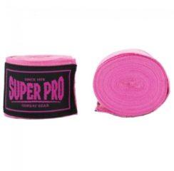 Super Pro SportbandageVolwassenen - roze/zwart