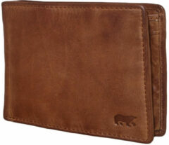 Bear Design Lage Billfold Cow Lavato Cognac