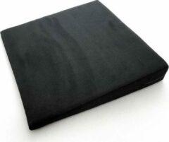 Zwarte Mckenzie Wigkussen 40 cm
