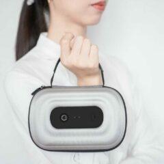 Zilveren Belgian Beauty Platform Draagbare UV Sterilisator desinfectie box