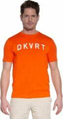 Oranje Donkervoort T-shirt met korte mouwen