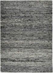 Antraciet-grijze Disena Antraciet vloerkleed - 160x230 cm - A-symmetrisch patroon - Industrieel