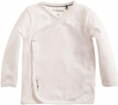 Witte Noppies Shirt Little - White - Maat 56