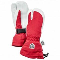 Rode Hestra - Women´s Heli Ski 3 Finger - Handschoenen maat 5 rood/roze/grijs