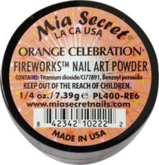 Oranje Mia Secret Fireworks Acrylpoeder Orange Celebration