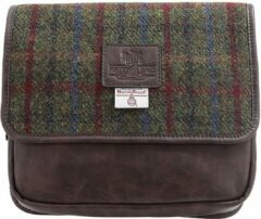 Rode The British Bags Company Hang Toilettas Breanais Harris Tweed – PU