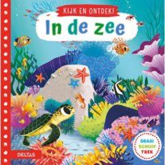 Deltas Schuifboek Kijk En Ontdek! - In De Zee 18 Cm