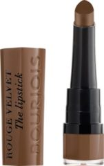 Bruine Bourjois Rouge Velvet The Lipstick Lippenstift - 14 Brownette