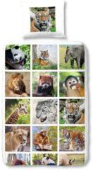 Kinderbettwäsche, Good Morning, »Wild«, mit Tiermotiven