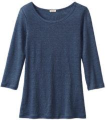 Enna Shirt met ronde hals, indigoblauw 44/46