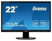 "Iiyama ProLite X2283HSU-B1DP - LED-Monitor - Full HD (1080p) - 55.9 cm (22"")"