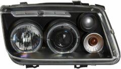 AutoStyle Set Koplampen passend voor Volkswagen Bora 1999-2005 - Zwart - incl. Angel-Eyes