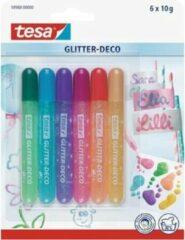 Tesa Glitter Deco Stift, Assorti 6 stuks