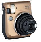 Fujifilm - Instax Mini 70 - Instant-Kamera in Gold - Mehrfarbig