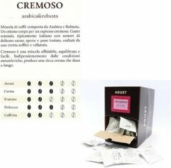 Caffè Agust box (150) ESE pods 7gr -Cremoso- 44mm