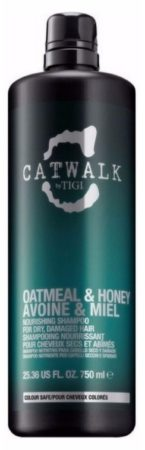 Afbeelding van TIGI Catwalk Oatmeal Honey Nourishing Shampoo 750 ml U pumpe