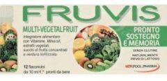Drf FRUVIS MULTIVEGETAL FRUIT SOSTEGNO E MEMORIA 12 Flaconcini