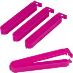 Metaltex Vershoudclips 10 Cm Roze 4 Stuks