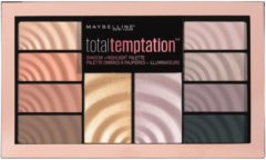 Beige Maybelline Total Temptation Shadow + Highlighter Palette
