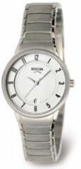 Boccia Titanium 3158-01 - Horloge - Titanium - Zilverkleurig - Ø 29 mm