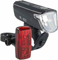 Zwarte Verlichtingsset Büchel BL-300 30 Lux StVZO
