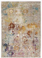 Picasso Feraghan Vintage Vloerkleed Multi / Beige Laagpolig- 160x230 CM