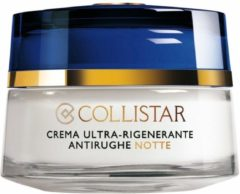 Collistar Anti-Age Night Cream Ultra Regenerating Anti-Wrinkle Gezichtsverzorging 50 ml