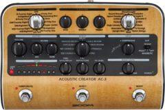Zoom AC-3 Acoustic Creator, Preamp, Multi-effecten sectie, Guitar Presets