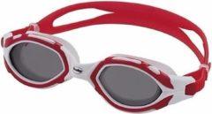 Fashy Professionele zwembril UV bescherming voor volwassenen rood