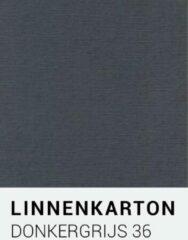 Linnenkarton notrakkarton Linnenkarton 36 Donkergrijs 30,5x30,5cm 240 gr.